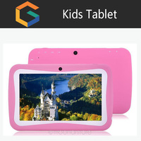 Best selling Android 5.1 cheap 7 inch quad core wifi children tablet student kids tablet with lowest price