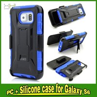 Heavy Duty Rough Shcokproof Combo Belt Clip Case Cover For Samsung S6 G9250