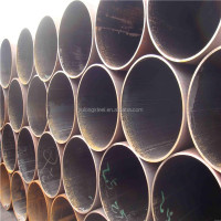 Cold formed ASTM A53 Grade B LSAW welded round steel pipe/tube for building material