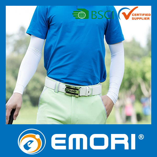 Advertised publicity factory OEM Golf Arm Cooling Sleeves protective arm sleeve