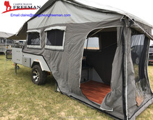 Rear open Camper Trailer Hard floor Camper trailer Easy Set up Camper Trailer ,Travel Camper Trailer,Rongchen Camper Trailer