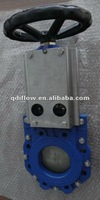 knife gate valve with protection cover