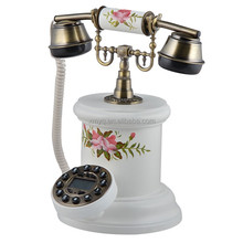 China Antique Decorative Corded Telephone With Caller Id
