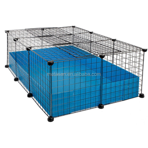 Modern style durable wire mesh guinea pig rabbit cage
