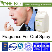 Food grade fragrance used for oral spray