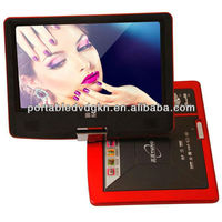 mini laptop with dvd player supporting TV/USB/3D/copy function full hd media player