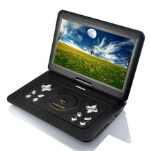 15.6--Inch Portable DVD Player with Rechargeable Battery and Remote Control, Black (CE Authenticate)