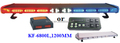 Hot selling Cheap LED Warnig Light Bar, (KF-6800L,120CM),126 PCS Linear LED,with controller