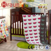 Premium Reversible Knitted Cotton Baby Woven Blanket