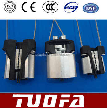 cable tension clamp anchoring clamp for ADSS/OPGW dead end tension clamp/suspension clamp