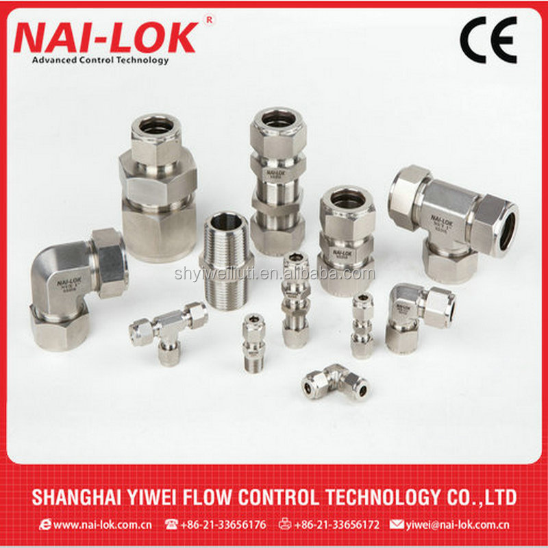 stainless steel 316L compression fittings