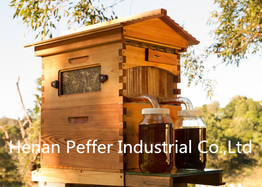 Peffer New Design Food Grade Langstroth/Australia Automatic Flow Bee Hive