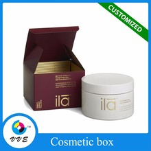 Elgant gift box with lid cosmetic storage box