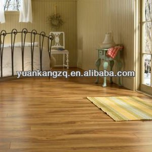 Popularity used in the global market lamiante flooring