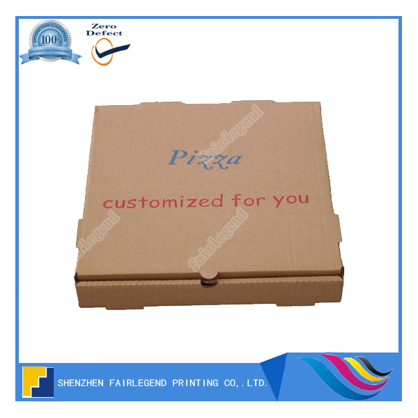High quality offset printing service currugated paper for pizza