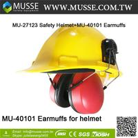 MU-40101 online shopping Earmuffs Design For Safety Helmet Ear Muffs For Safety Helmet