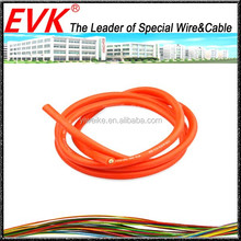 Super soft type motor vehicle ignition silicone insulation wire