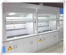 Laboratory Furniture Fume Hood With Sink Chamber Fumehood
