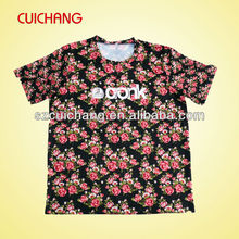 floral t shirt for ladies