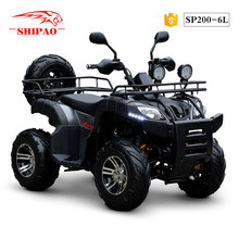 SP200-6L Shipao kids atv four wheelers 300cc quad 4x4 atv for sale