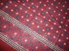 SINDHI AJRAK WITH BORDER ORIGINAL
