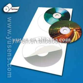 115gsm Self Adhesive cast coated glossy Paper A4 50sheets