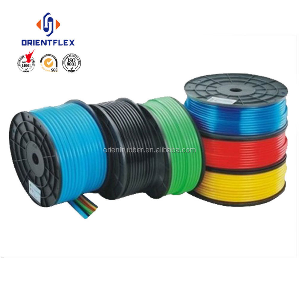 Chinese factory transparent no toxic multi-function taida polyurethane tubing by foot