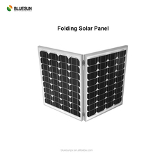 Bluesun camping use 60w 80w 90w 100w 110w 120w folding portable solar panel