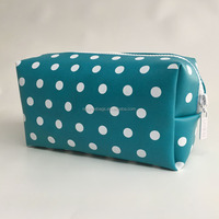 100% QC custom make cute PU cosmetic bag