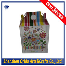 Get Your Own Custom Design custom tag folding cupcake box Manufacturer