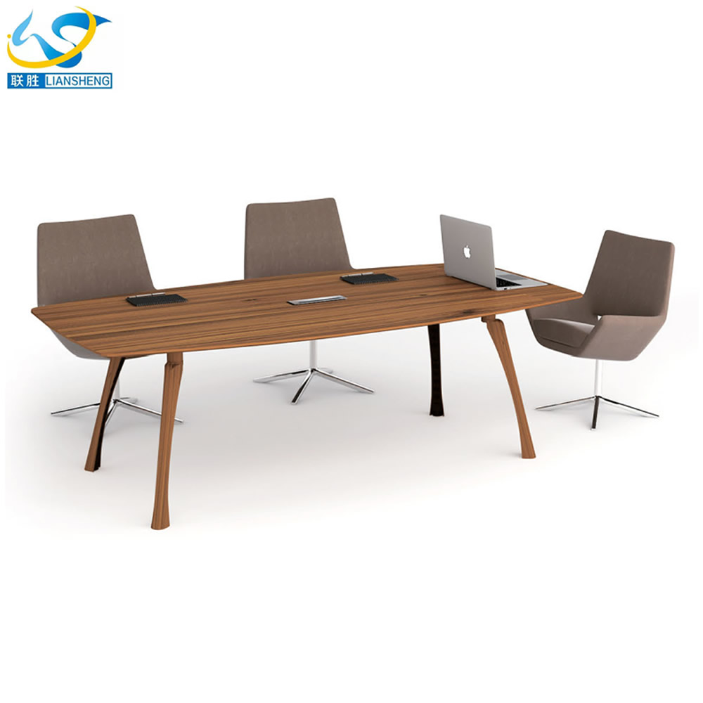 Hot sale wood meeting office table design office discussion table