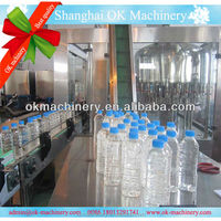 distilled water rinsing filling capping
