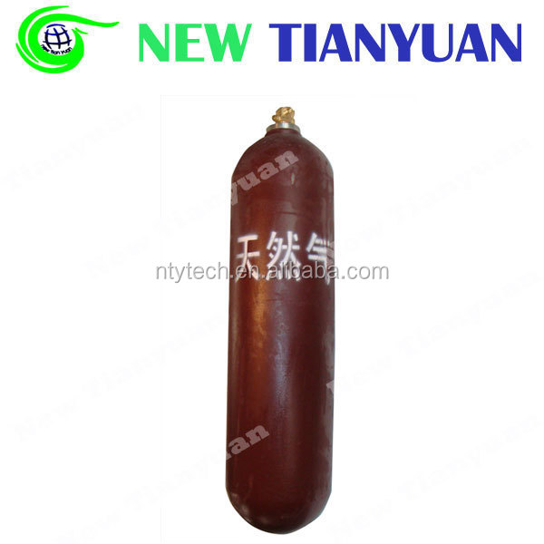 28L Volume Capacity 30MPa Hyd. Test Pressure Type 1 CNG Steel Cylinder