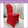 KA094 new design red banquet spandex wedding chair covers