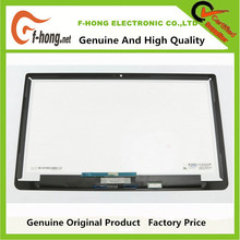 Genuine Original LCD Touch Screen Digitizer With Bezel P000608910 For Toshiba P55W B5220