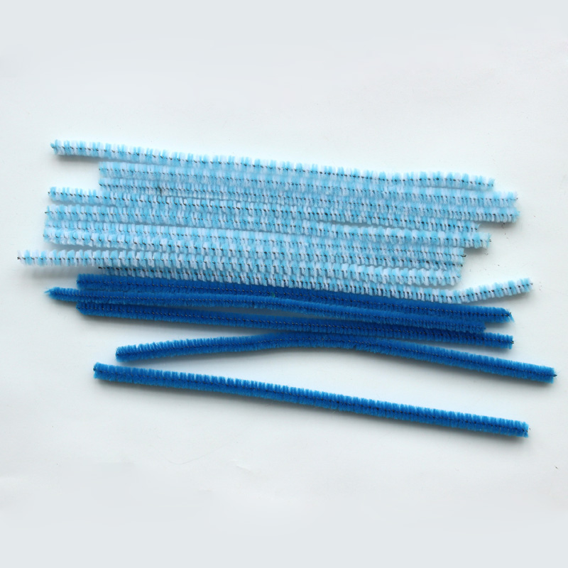 Hot Selling Polyester Decoration Pipe Cleaners Bulk