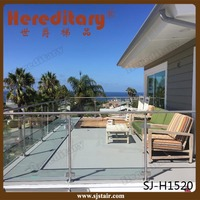 Glass Balcony Railing / Plexiglass Handrail / Balustrade/ Tempered Glass Deck Railing Lowes