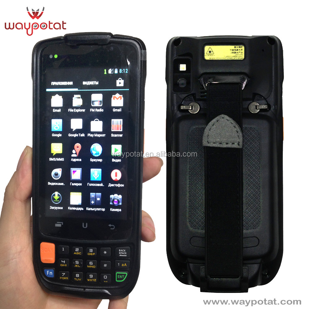 Barcode scanner POS PDA android with Quad-core 1.2GHz processor - i6200s
