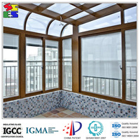 China hot sale motorized roller blind inside double glass window