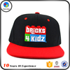 Popular wholesale custom snapback cap embroidered caps