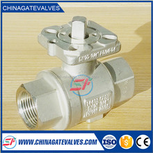 Many kinds standards ISO&CE certification manufacture stainless steel Flanged End With Direct Mounting Pad ball
