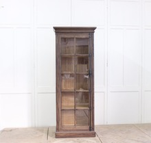 Vintage home furniture industrial bookcase with study table