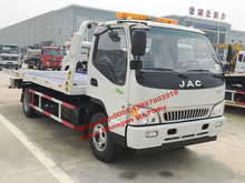 JAC 3Tons Wheel Lift Tow Truck, Wrecker Truck