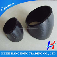 pipe fitting 8 inch 22.5 degree ms steel elbow price