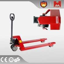 high quality hand pallet truck trolley warehouse reach stacker with kessler driving axle