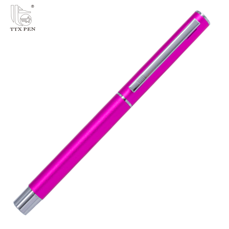 2018 New products wholesale market promotion popular metal logo pen