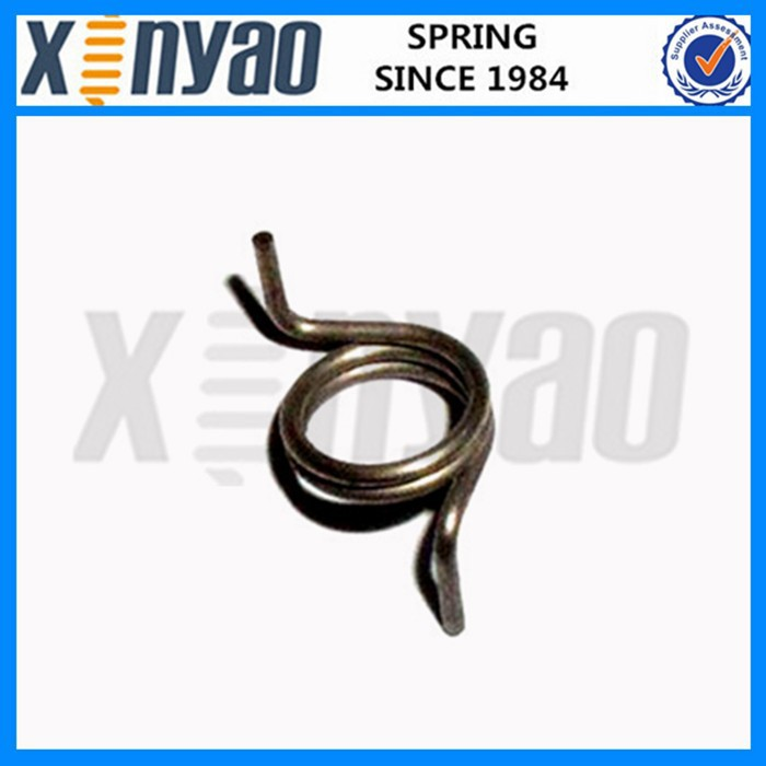 Custom hinge spring clip torsion spring