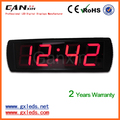 red 4 inch high brightness meeting room led digital timer