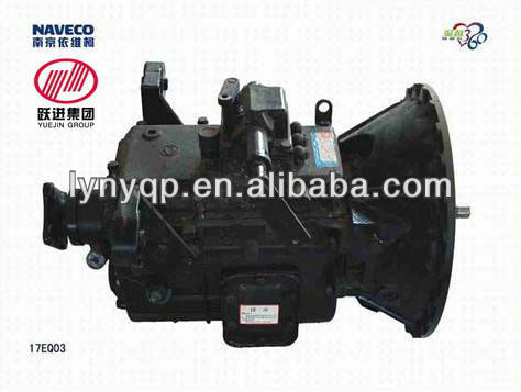 Gearbox 17EQ03 of Yuejin auto light truck parts