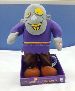 ODM OEM Halloween scary Electric toys / Halloween electrical moving zombie